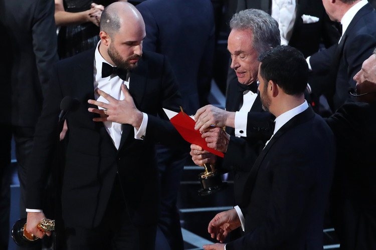 The Internet Lost It Over the Oscars Best Picture Mix-Up